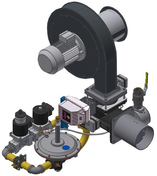 DPL Palniki Modulowane, ze stałym stosunkiem gaz-powietrze